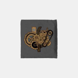 Steampunk Machinery (Brassy) Reusable Bag