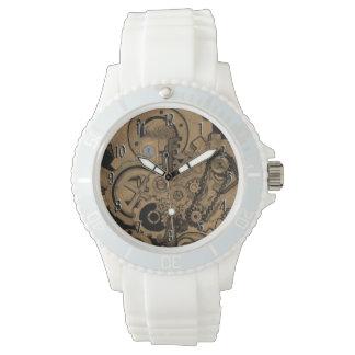 Steampunk Machinery (Brassy) Wristwatch