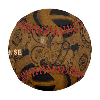 Steampunk Machinery (Copper) Baseball