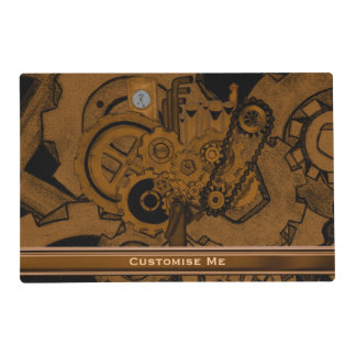 Steampunk Machinery (Copper ) Placemat