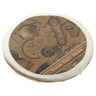 Steampunk Machinery (Copper) Sugar Cookie