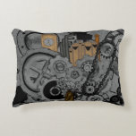 Steampunk Machinery (Full Colour) Accent Pillow