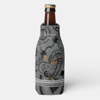 Steampunk Machinery (Full Colour) Bottle Cooler