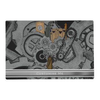 Steampunk Machinery (Full Colour) Placemat