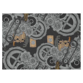 Steampunk Machinery (Full Colour) Tablecloth
