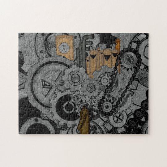 Steampunk Machinery Jigsaw Puzzle