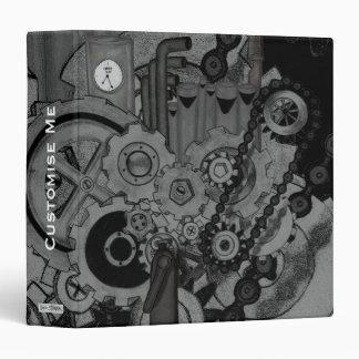 Steampunk Machinery (Monochrome) Binders