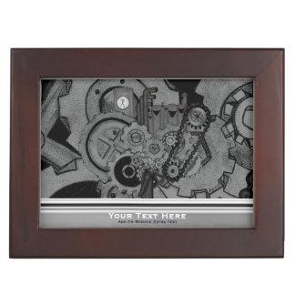 Steampunk Machinery (Monochrome) Memory Box