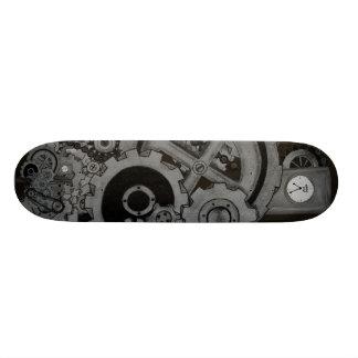 Steampunk Machinery (Monochrome) Skate Decks