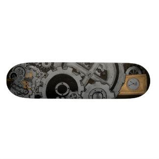 Steampunk Machinery Skateboard