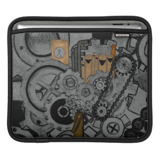 Steampunk Machinery Sleeves For iPads