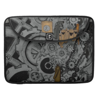 Steampunk Machinery Sleeves For MacBooks