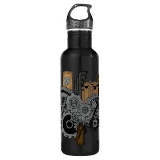 Steampunk Machinery Stainless Steel Water Bottle