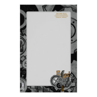 Steampunk Machinery Stationery