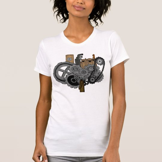 Steampunk Machinery T-Shirt