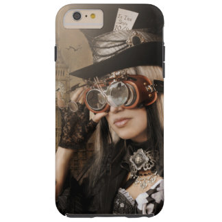 Steampunk Mad Hatter iPhone 6 Plus Case