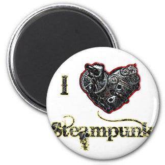 Steampunk 2 Inch Round Magnet