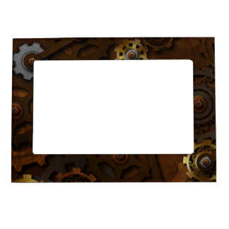 Steampunk Magnetic Frame