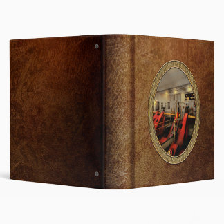 Steampunk - Man the controls 1908 Binder