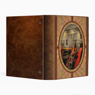 Steampunk - Man the controls 1908 Mini Binder