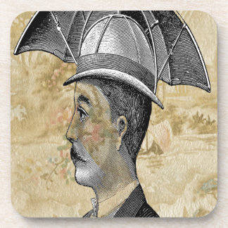 Steampunk Man Umbrella Hat Coaster