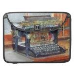 Steampunk - máquina de escribir del vintage fundas macbook pro