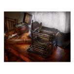 Steampunk - máquina de escribir - el mensajero postal