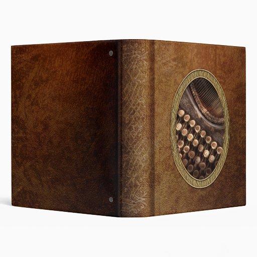 Steampunk - máquina de escribir - tuckered también