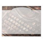 Steampunk - máquina de escribir - tuckered también bloc
