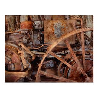 Steampunk - máquina - la edad industrial postal