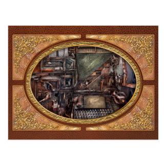 Steampunk - máquina - todas las campanas y silbido tarjetas postales