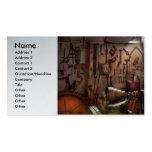 Steampunk - maquinista - el taller de los tarjetas de visita