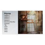 Steampunk - maquinista - la estación de pulido plantillas de tarjetas de visita