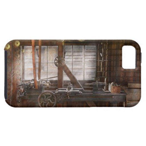 Steampunk - maquinista - mi taller que se ocupa va iPhone 5 Case-Mate funda