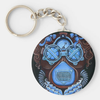 Steampunk Masquerade No1 Keychain
