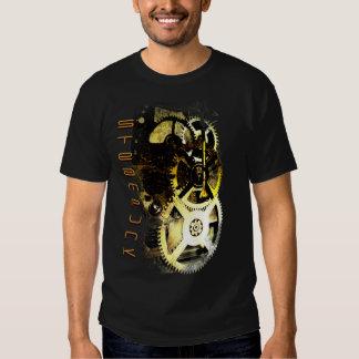 Steampunk Mech Remera