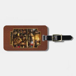 Steampunk - Mechanica Travel Bag Tags