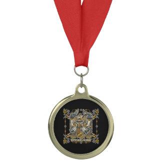 Steampunk Mechanical Gas Mask Medal