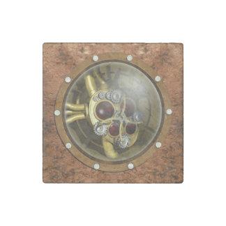 Steampunk Mechanical Heart Stone Magnet