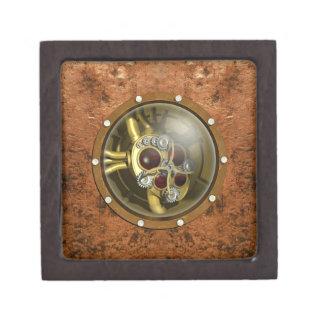 Steampunk Mechanical Heart Jewelry Box
