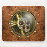 Steampunk Mechanical Heart Mouse Pad