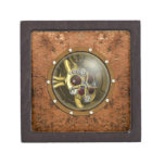 Steampunk Mechanical Heart Premium Keepsake Box