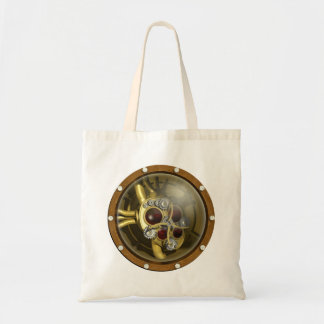 Steampunk Mechanical Heart Tote Bag