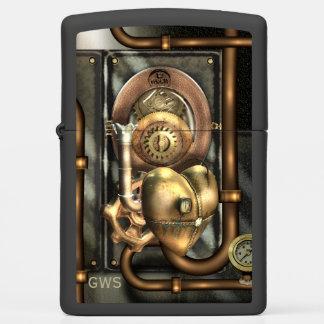 Steampunk Mechanical Heart Zippo Lighter