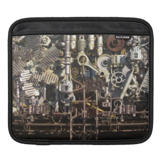 Steampunk mechanical machinery machines sleeve for iPads