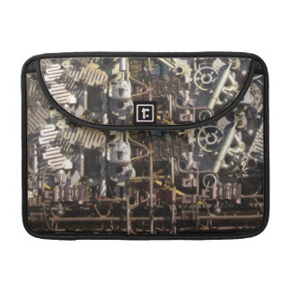 Steampunk mechanical machinery machines sleeve for MacBook pro