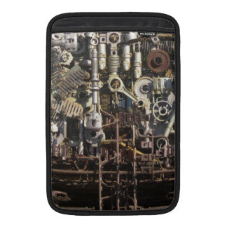 Steampunk mechanical machinery machines sleeves for MacBook air