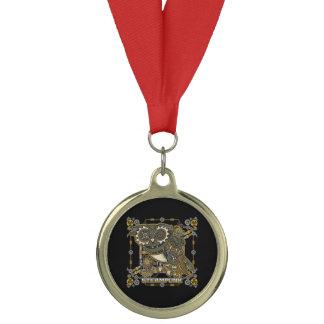 Steampunk Mechanical Owl Medal