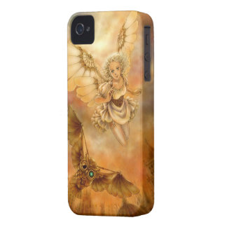Steampunk Mechanical Wings Fantasy iPhone 4 Case