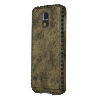 Steampunk Metal and Studs Panel Phone Case